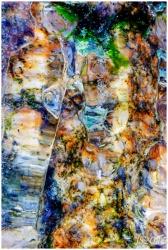 Värikäs kallio